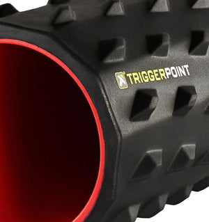 "TriggerPoint Carbon Foam Roller - 26"" - Side Close Up"