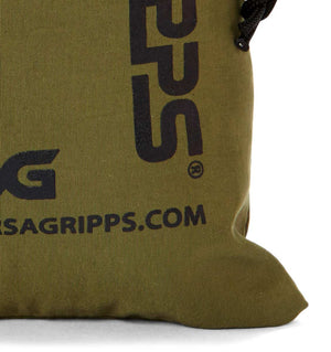 Versa Gripps Breathable 100% Taslan VG Stuffsak Bag Camo Logo Close Up