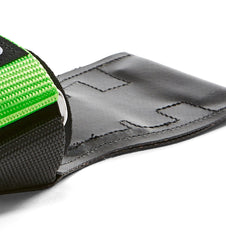 Versa Gripps Pro Series Lime Green Strap Close Up