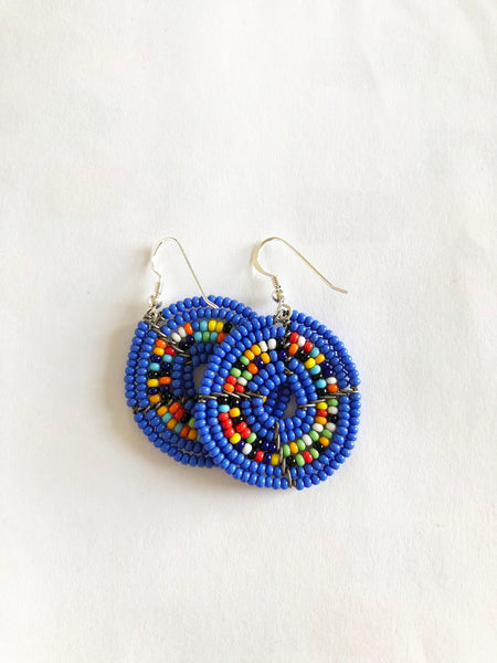 Kifaru Circle Earrings