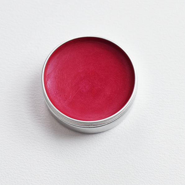 Organic Strawberry Shimmer Lip Balm