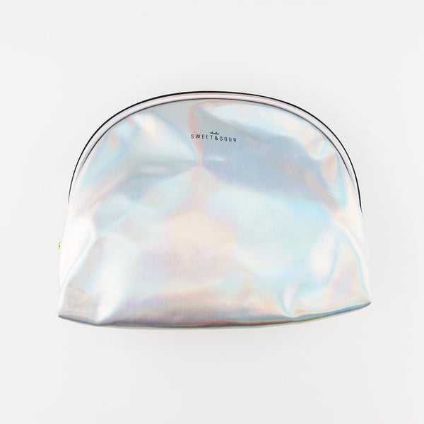Make Up Bag – Holographic Silver