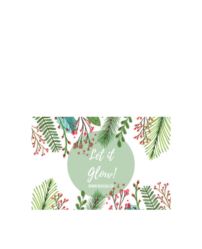 GIFT CARD - LET IT GLOW