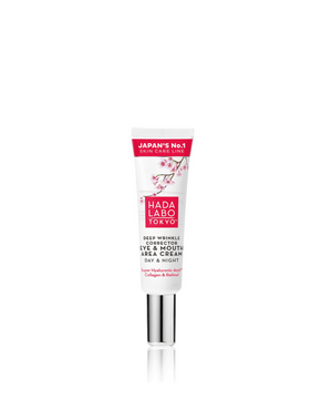 HADA LABO Red - Deep Wrinkle Corrector Eye & Mouth Area Cream