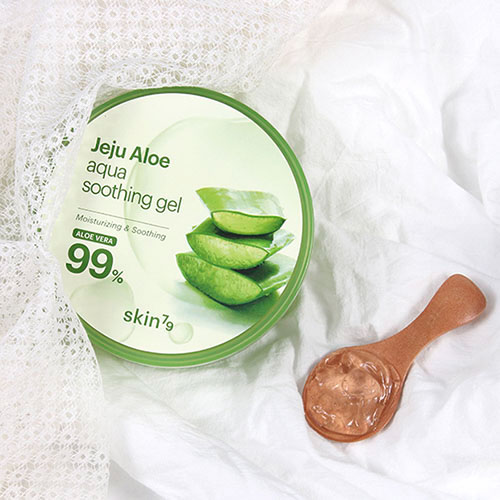 pure gel d'aloe vera à 99% apaisant, coups de soleil, irritations, vegan chez niasha france