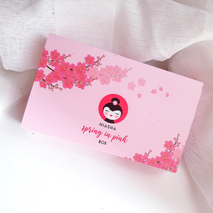 SPRING IN PINK - MASK BOX