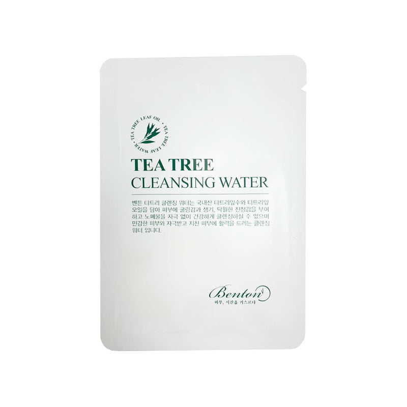 BENTON  Tea Tree Cleansing Water (Dispo dans le Coffret Benton)