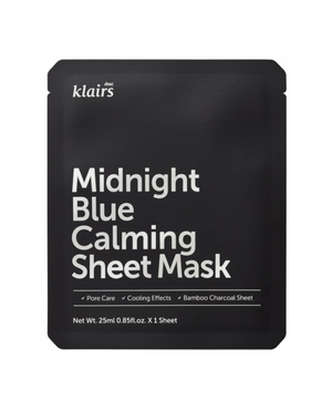 MIDNIGHT BLUE CALMING SHEET MASK