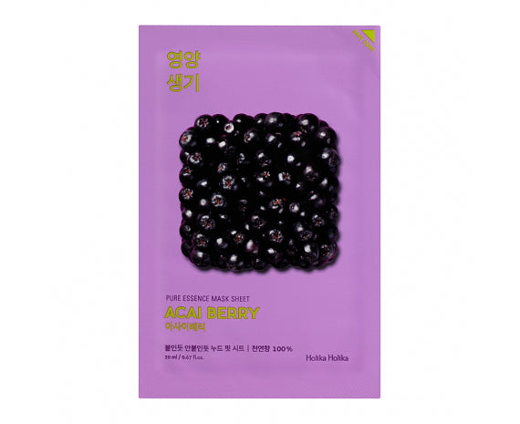 HOLIKA HOLIKA Pure Essence Mask Sheet - Acai Berry