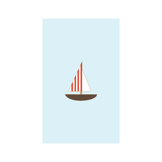 Plain Pins x Scout Editions - Sailboat