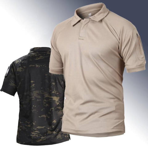 Quick-Dry Breathable Tactical Polo-Shirt