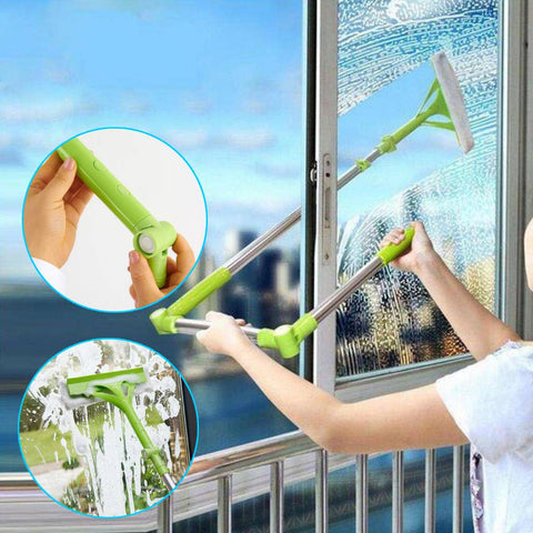 AnyAngle® - Adjustable Telescopic Window Multi Cleaning Mop