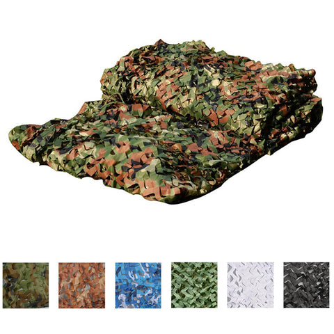 5 Colors Camouflage Net
