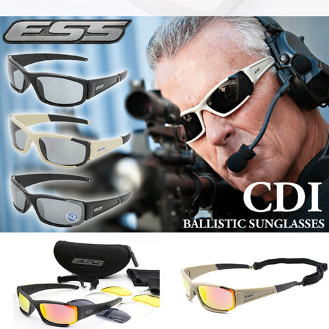 CDI™ Tactical Sunglasses With 4 Lenses Kit
