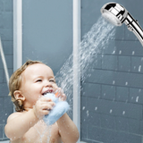 Smart-Control Triple-Pressure Rotating Showerhead