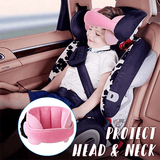 Sweetdreams™ Child Car Seat Head Support - Indigo-Temple