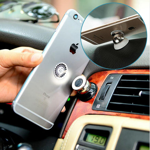 Phrone™ - 360 Degree Universal Magnetic Car Phone Holder