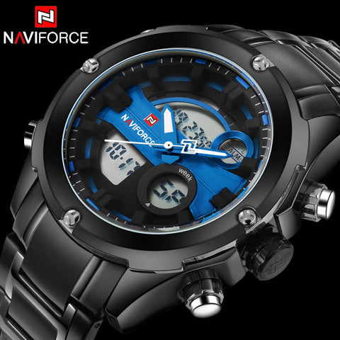 Military Analog Digital Watch (4 colors)