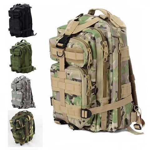 Army Camouflage Travel Backpack (8 colors)