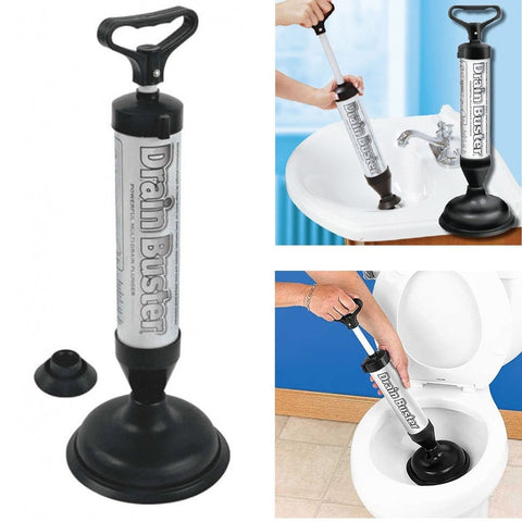 Drain Buster - Plunger Cleaner