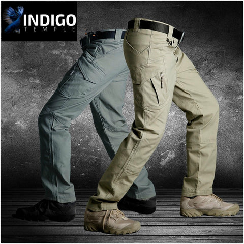 IX9 Tactical Cargo Pants - Indigo-Temple