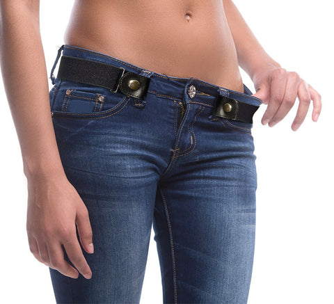 Buckle-Free Adjustable Belts