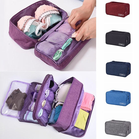 Bra & Underwear Travel Organizer