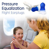 Flightmate™ Multipurpose Pressure Equalization Earplugs - Indigo-Temple