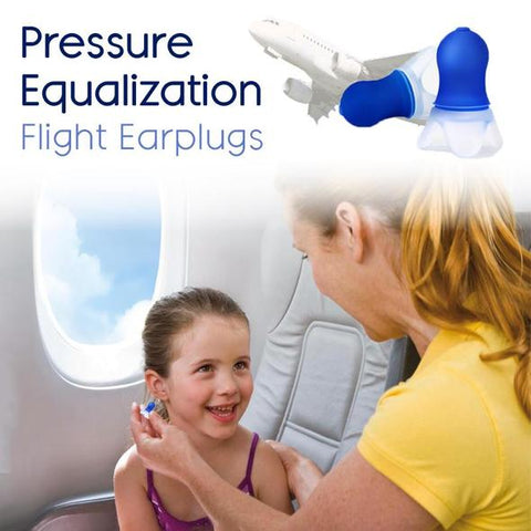 Flightmate™ Multipurpose Pressure Equalization Earplugs