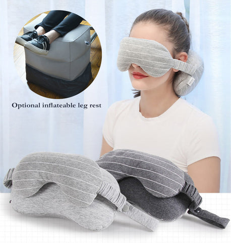 2 IN 1 Travel Mask & Neck Pillow