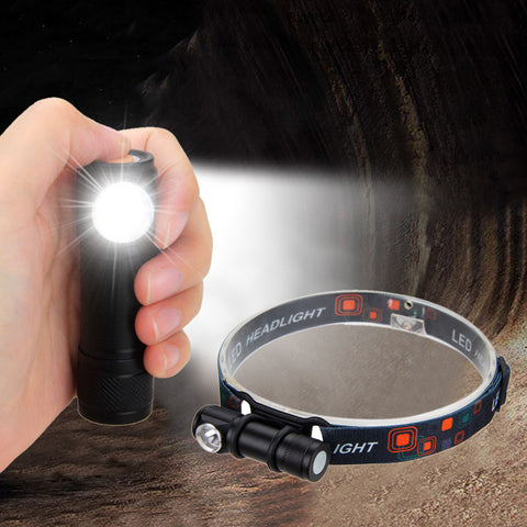 Adjustable Headlamp With Detachable Magnetic USB Lamp