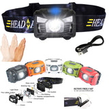 Sensor-Operated Rechargeable LED Headlamp