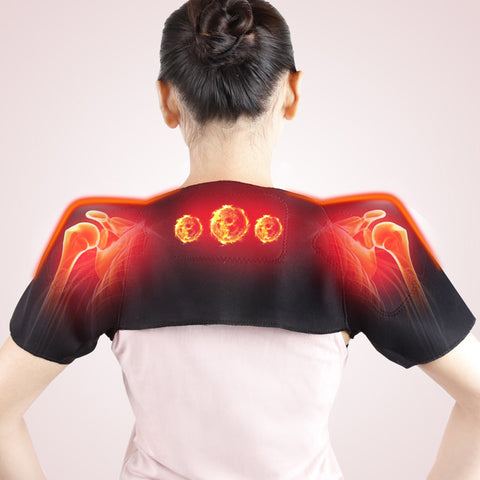 Tourmaline Self Heating Shoulder Pad Wrap