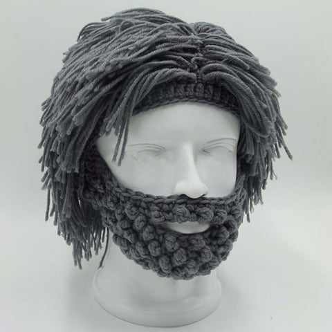 Beardguy™ Winter Beard Beanies - Indigo-Temple