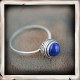 IDAN Elegant Style With Natural Stones Ring