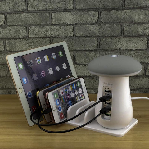 Smartshroom™ Multi Port USB Charger & Night Lamp