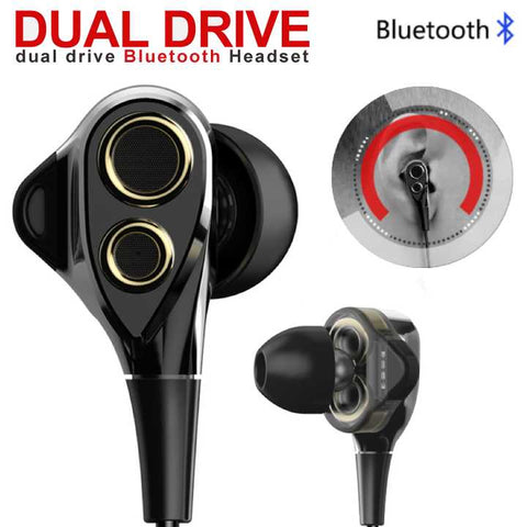 Dual-Drivers Wireless BT Headset