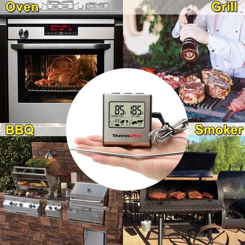 ThermPro™ Portable Smart BBQ Thermometer