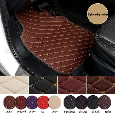 Luxury Car Floor Mat 4pcs Full set (free shipping)