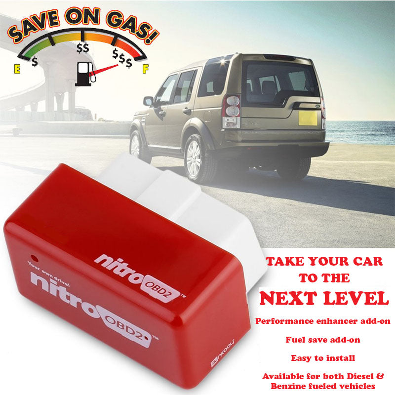 WORKS ON ALL GAS POWERED DODGE MODELS OBD2 POWER PERFORMANCE CHIP--SAVE GAS