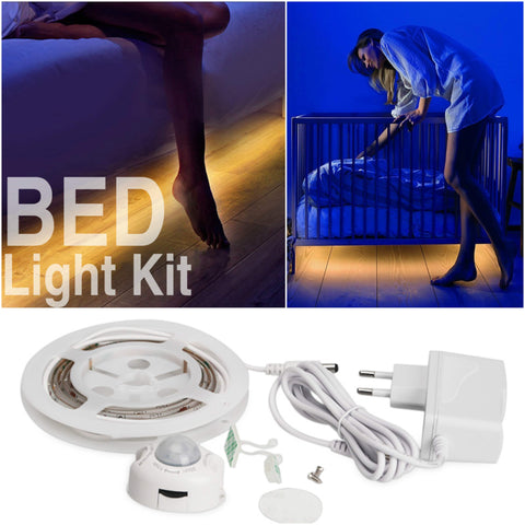Motion Activated Bed Light Kit - Indigo-Temple