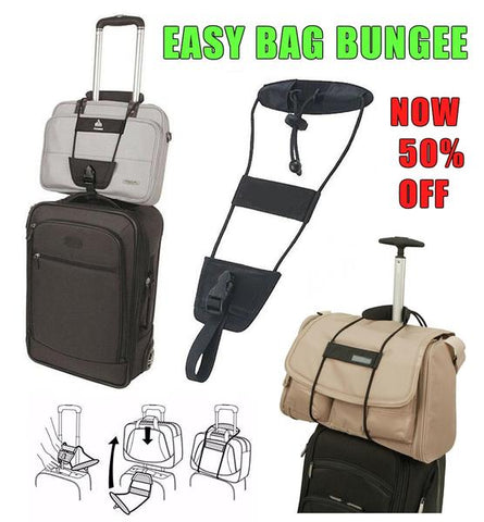 Easy Bag Bungee™ - Perfect Luggage Companion - Indigo-Temple