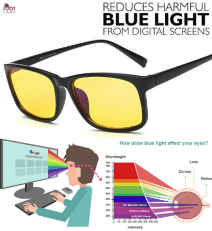 Digital Screens Protection Glasses Blue Ray Filter