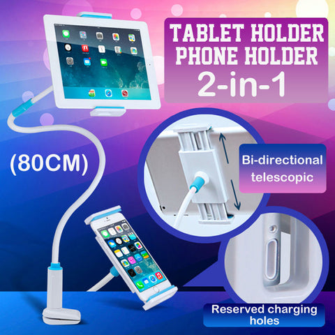 Universal & Flexible Tablet / Phone Stand Holder - Indigo-Temple