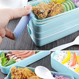 3 Layers Microwave Bento Lunch Box