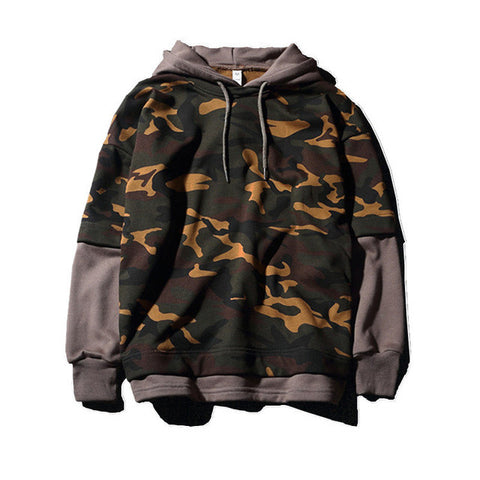 Men Camouflage Military Hoodie (3 colors)