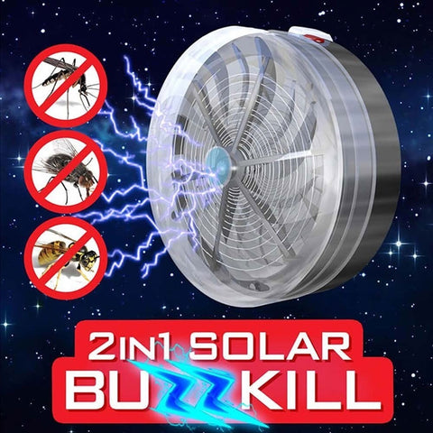 BuzzKill™ Solar Mosquito & Flying Bugs Killer