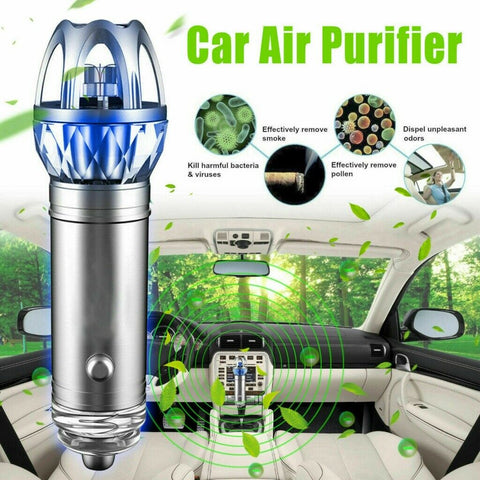 12V CAR AIR PURIFIER & IONIZER