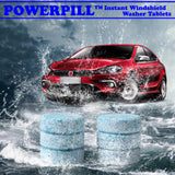 PowerPill™ - Instant Windshield Washer Tablets