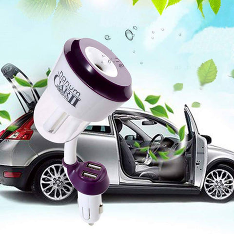 Nanum™ Car Air Humidifier and USB Charger